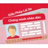 vay tiền nhanh online - thẻ CMND